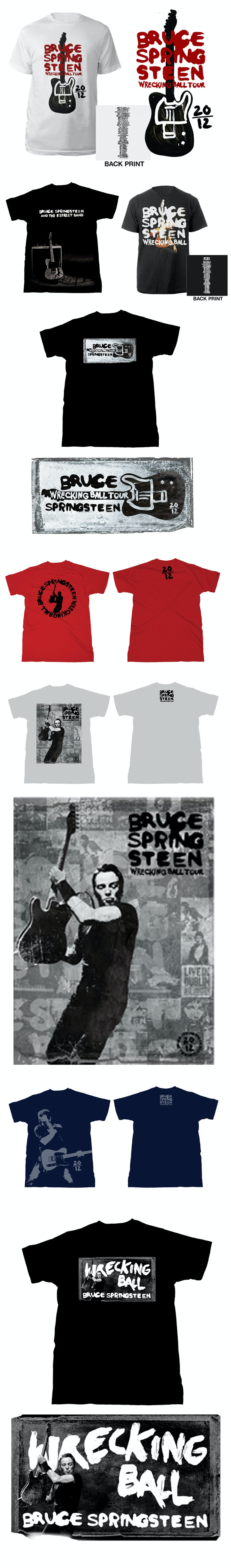 Wrecking Ball Tour Merch - Mens Tees