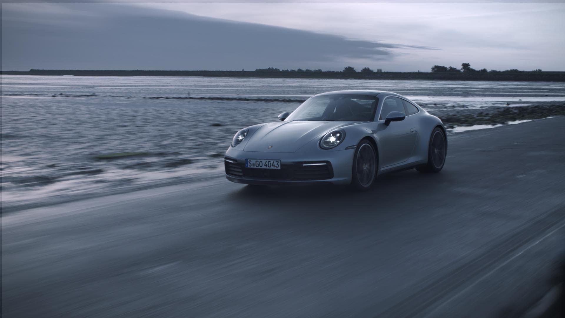 Porsche 911 - Passage du Gois