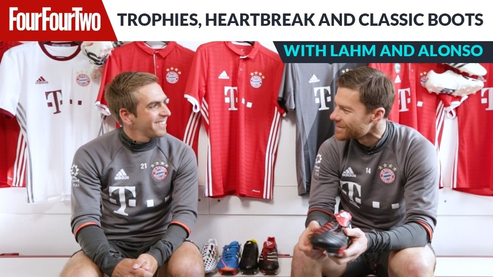 Philipp Lahm and Xabi Alonso   Trophies, heartbreak and classic boots