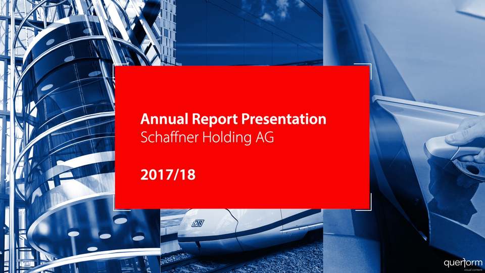 Schaffner Annual Report