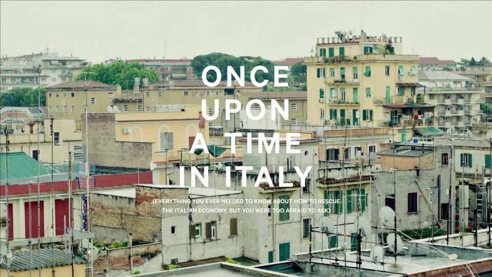 55DSL - Once Upon A Time In Italy (short film)