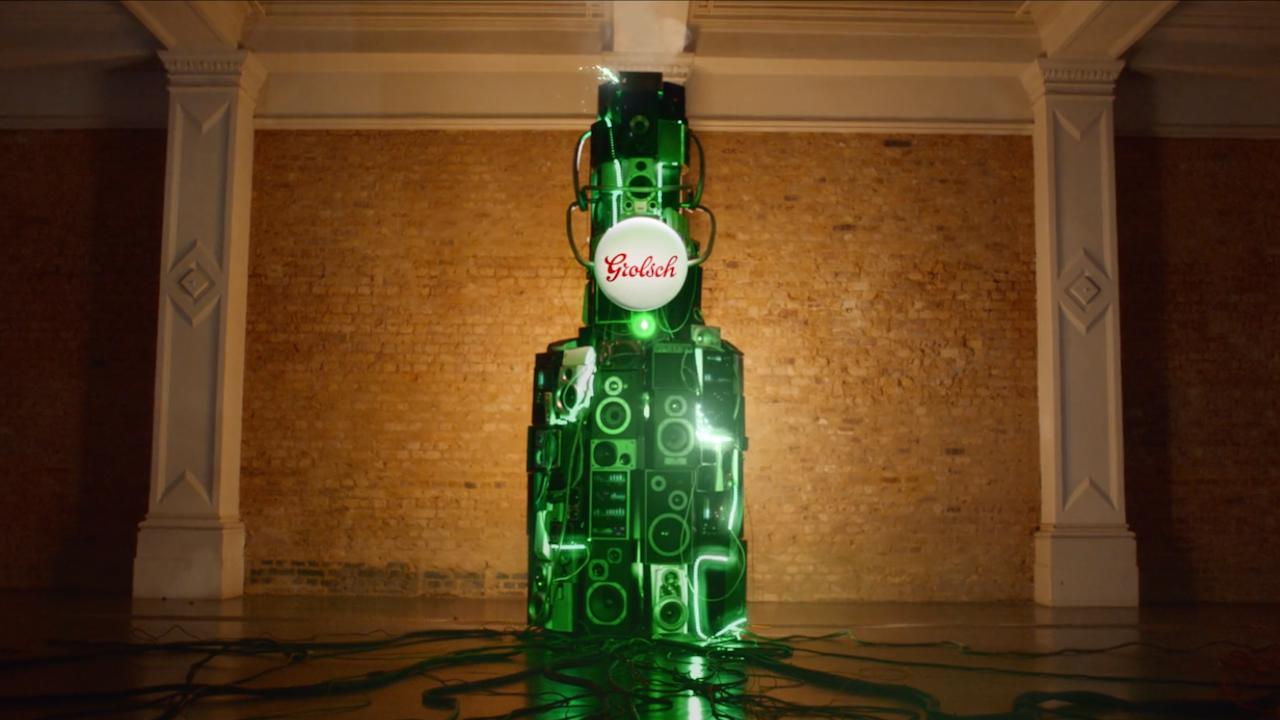Grolsch - Speaker Bottle TVC -
