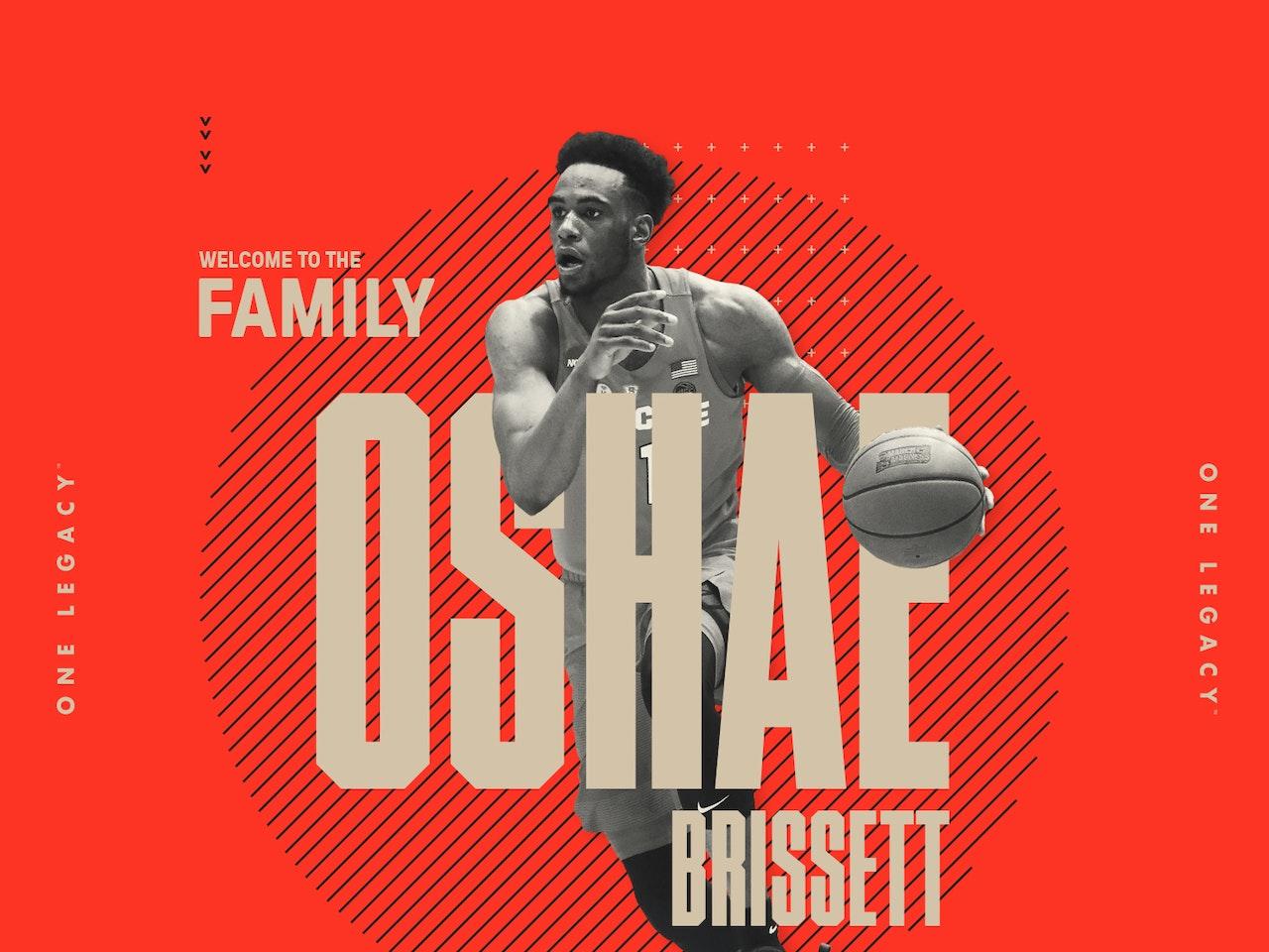 OSHAE BRISSETT WELCOME
