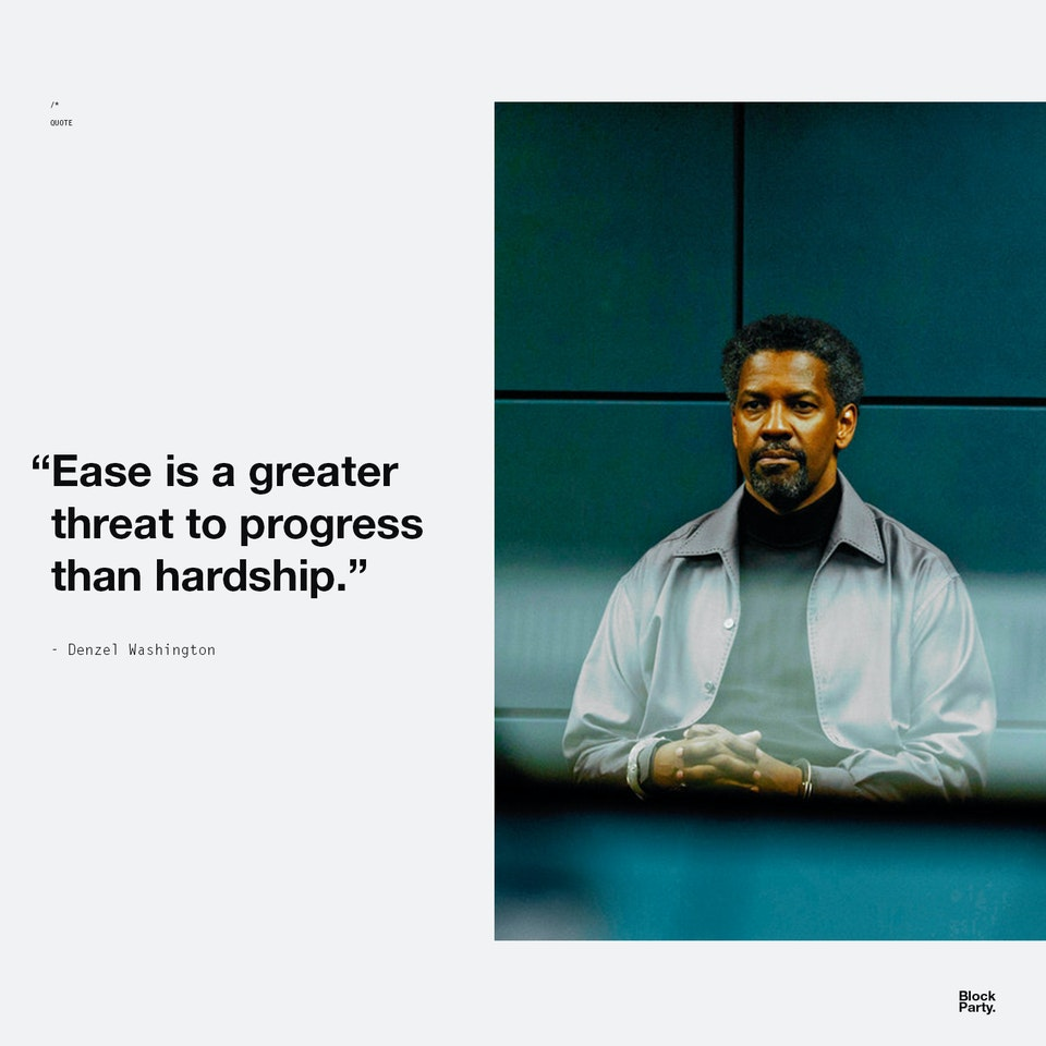 Ease threat - QUOTE + PHOTO