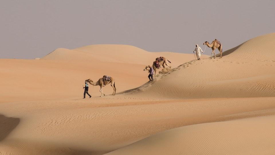 Human Interest - Crossing the Empty Quarter