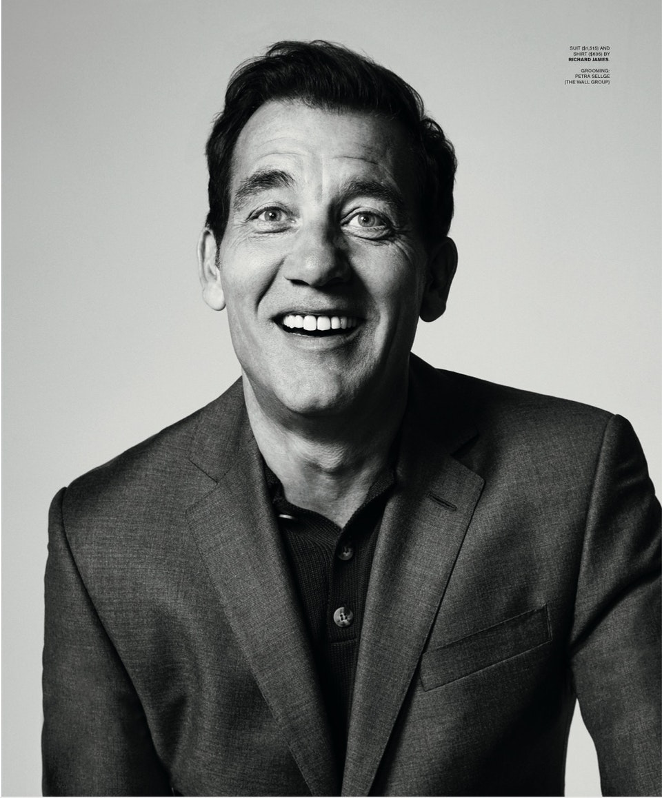 SHARP Magazine by Leigh Kelly feat. Clive Owen - SHARP Magazine by Leigh Kelly