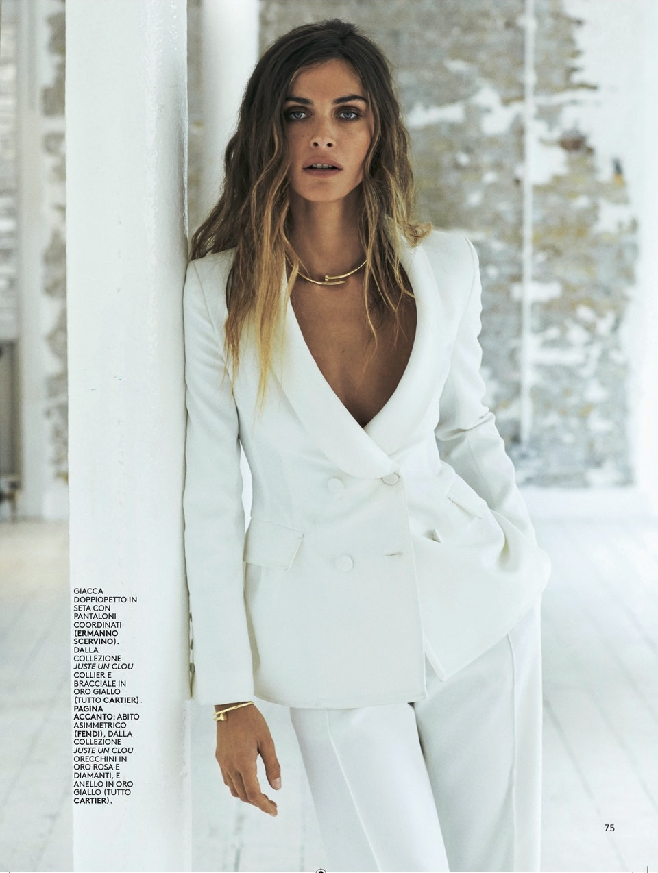 GRAZIA Italy by David Oldham feat. Elisa Sednaui - GRAZIA Italy by David Oldham