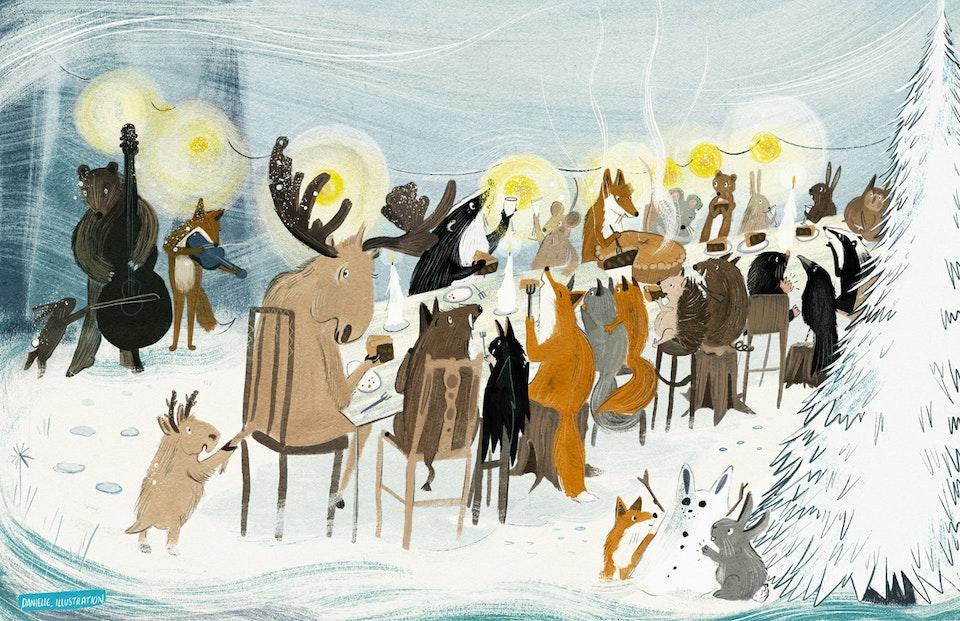 Danielle Callaghan - Winter Celebrations. WEB