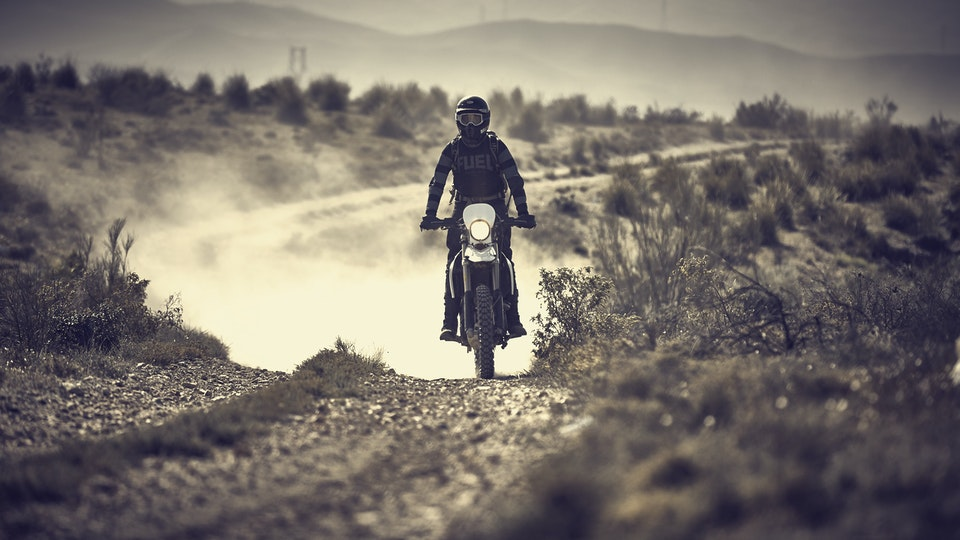 the long dusty road