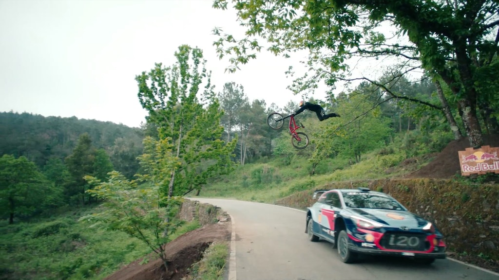 Red Bull - WRC Vs Mtn Bike