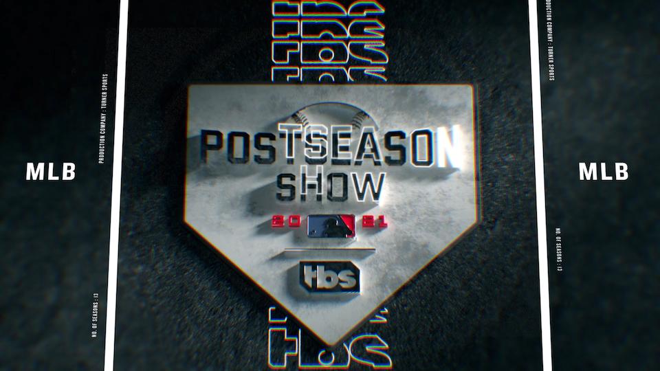Major League Baseball for TBS - 2021 Postseason Rebrand