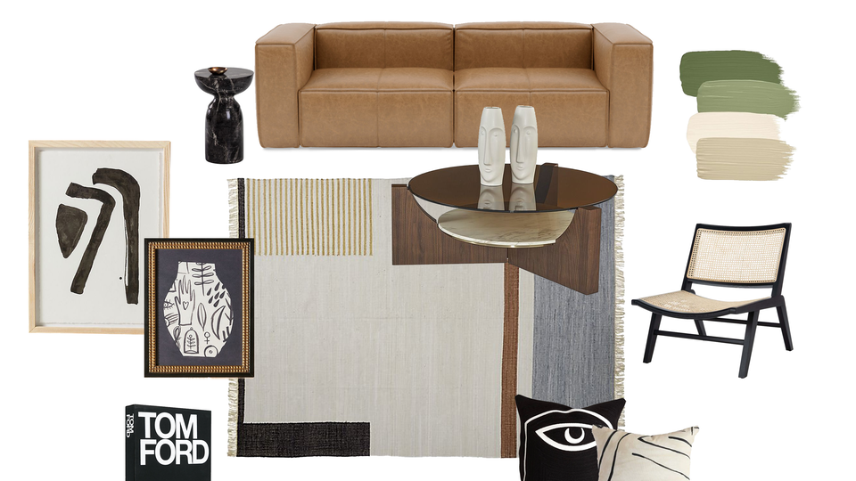 Matthew Jalac - Curated & Cozy Living Room
