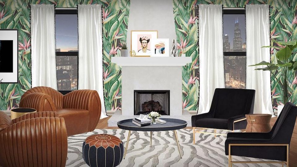 Matthew Jalac - Frida Fantasy Living Room