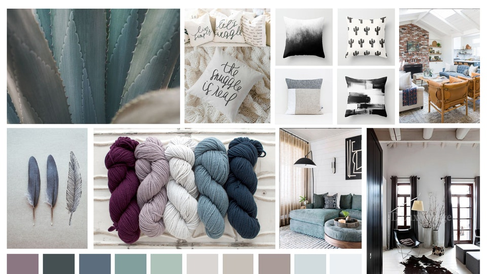 Matthew Jalac - Seaside Bohemian Living Room