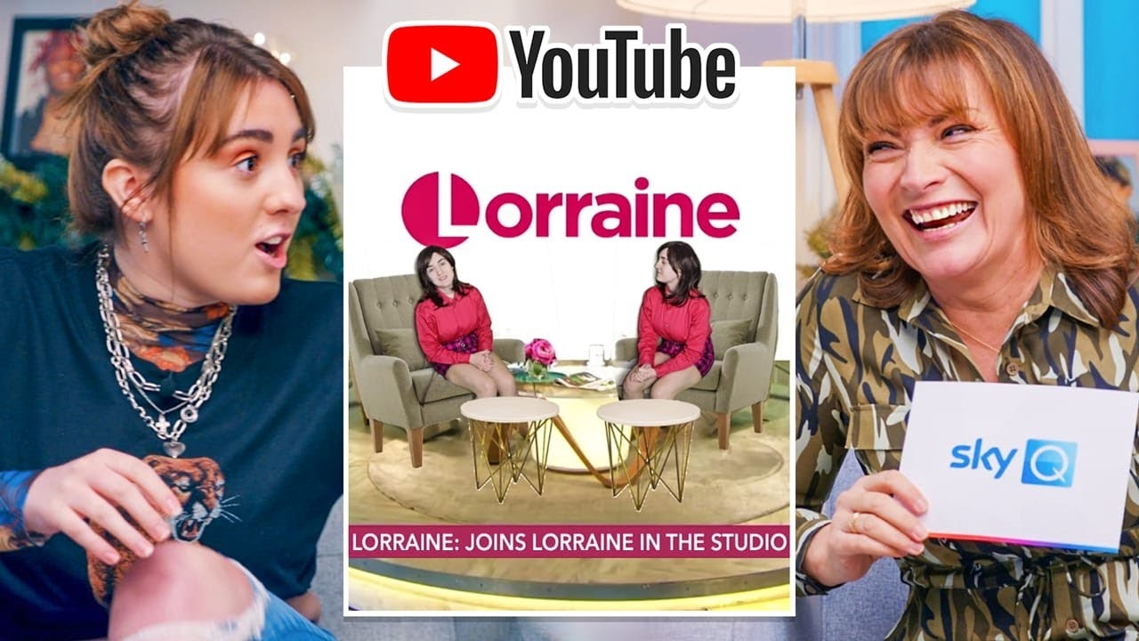 Lorraine Kelly Reacts to a Parody of Herself ft. Chi With A C