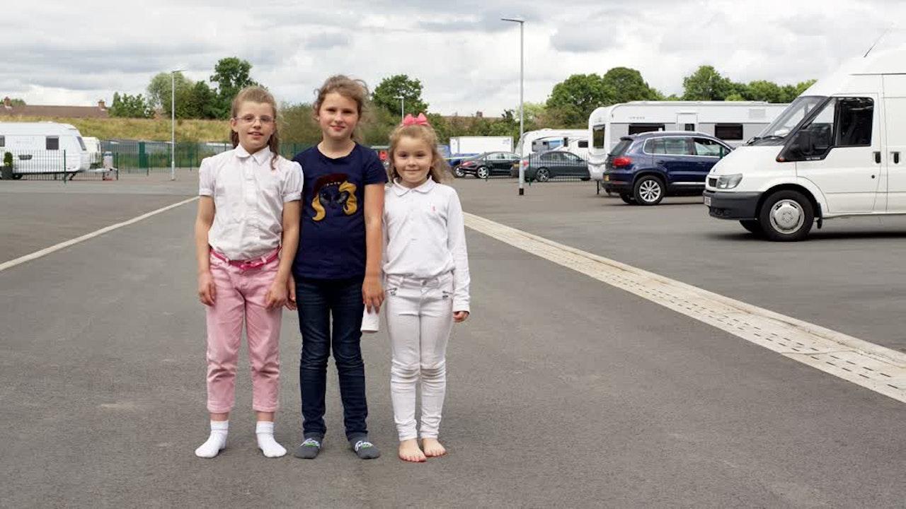 GK - three girls
