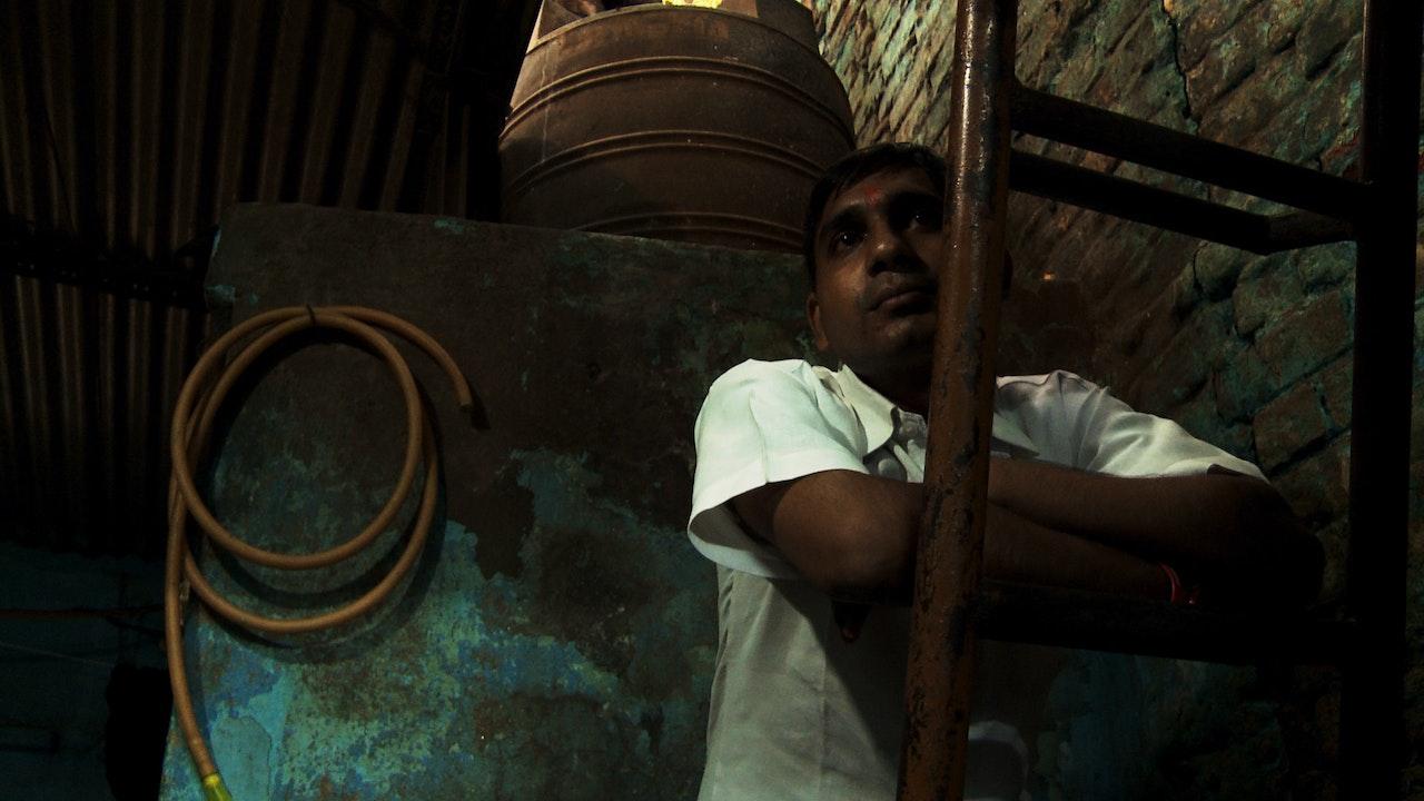 Govinda on the ladder