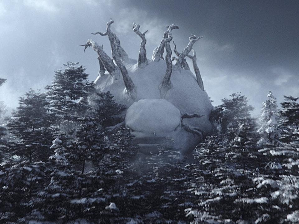 majikvfx - Nissan - Return of the Snowman