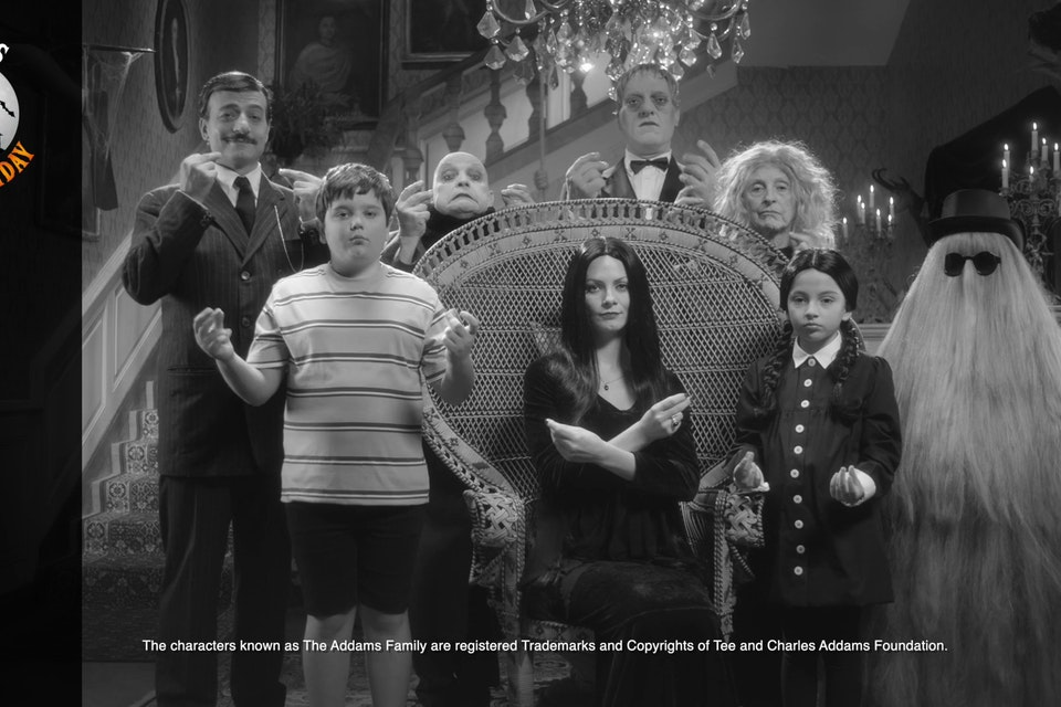 UNIEURO - ADDAMS BLACK FRIDAY CINEMA