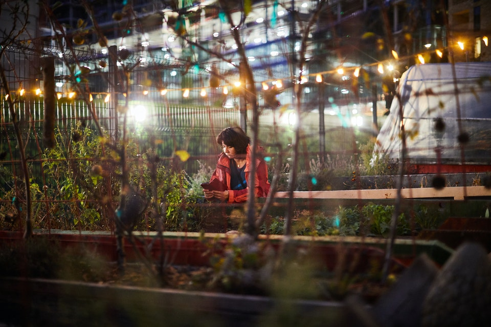 Lifestyle - Lady in the Skip Garden