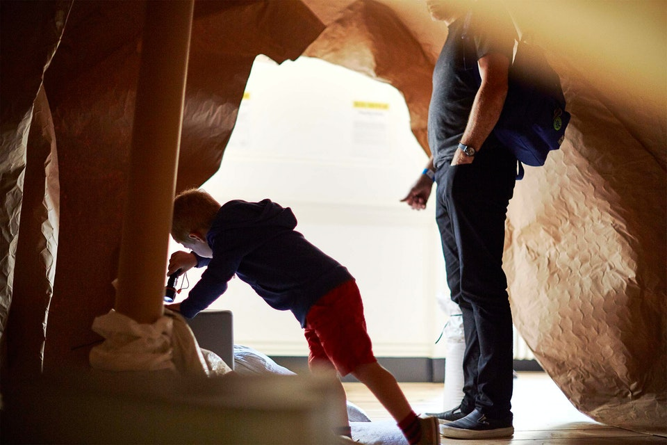 Lifestyle - Child Exploring Spaces - Photographed for Matheson Marcault / Now Play This