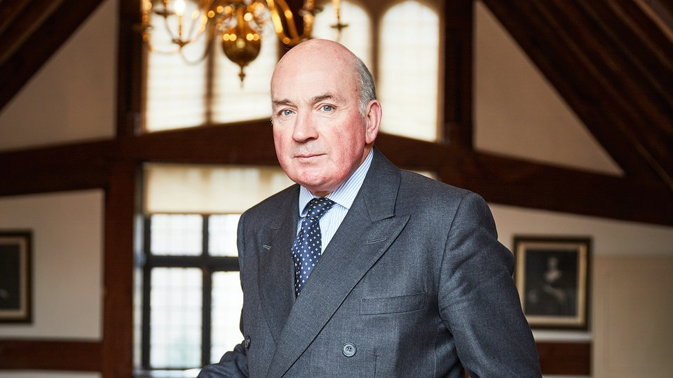 Portraits - Lord Dannatt - Photographed at The Tower Of London for The London Magazine / Cedar Content