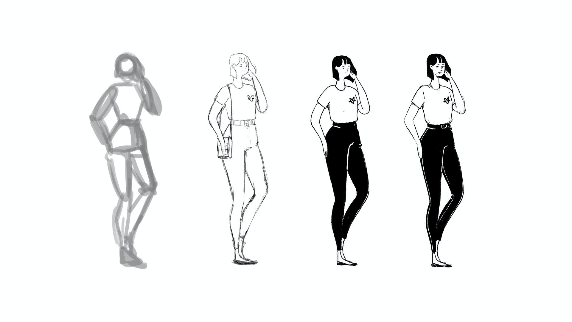 Woman character design