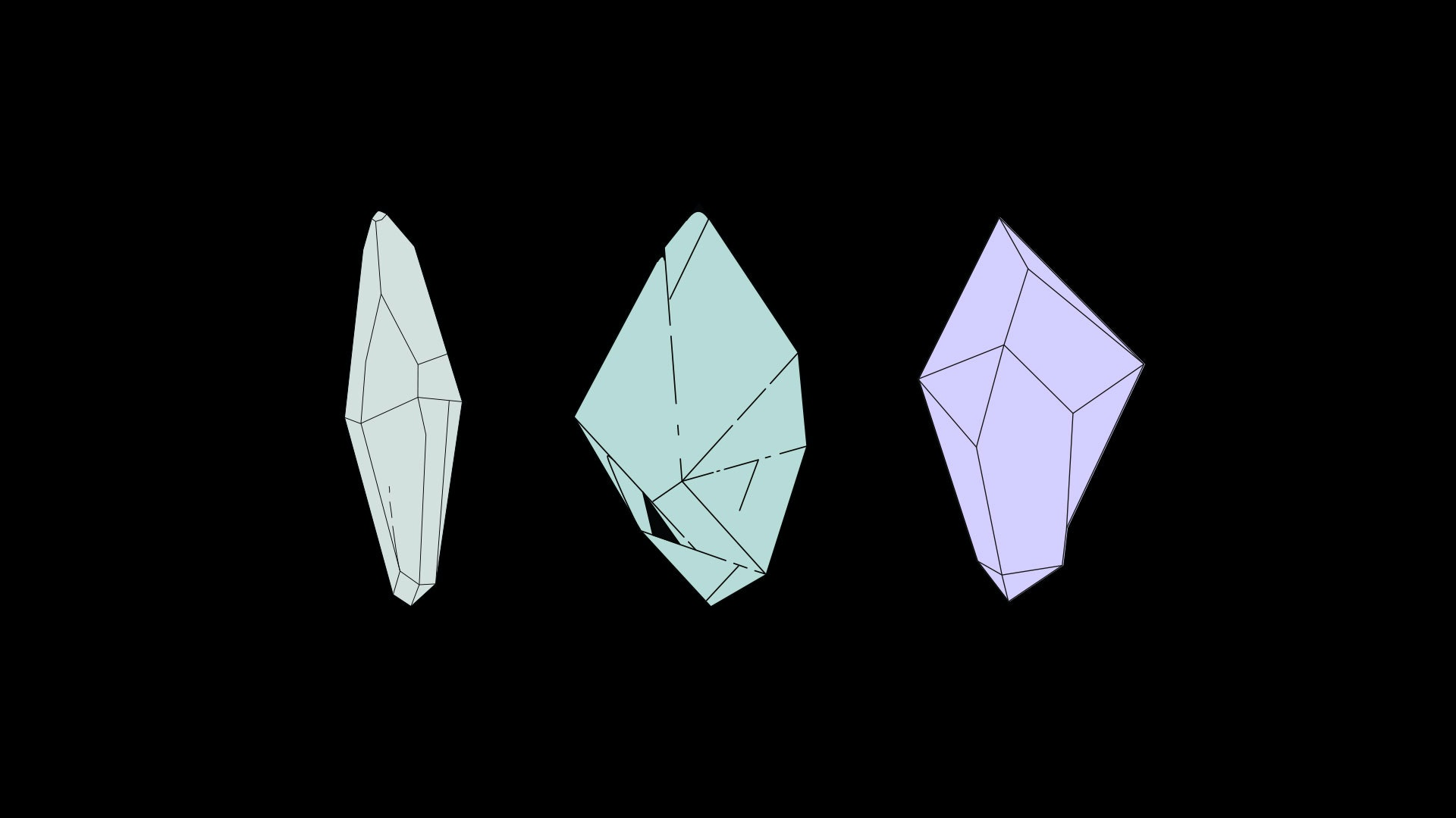3D diamond drafts