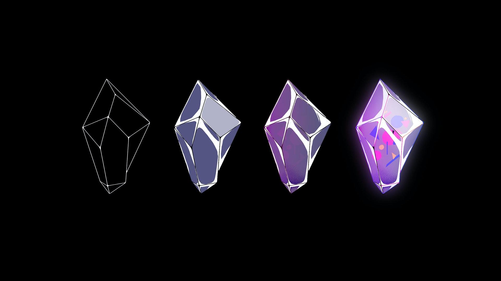 3D magic diamond design