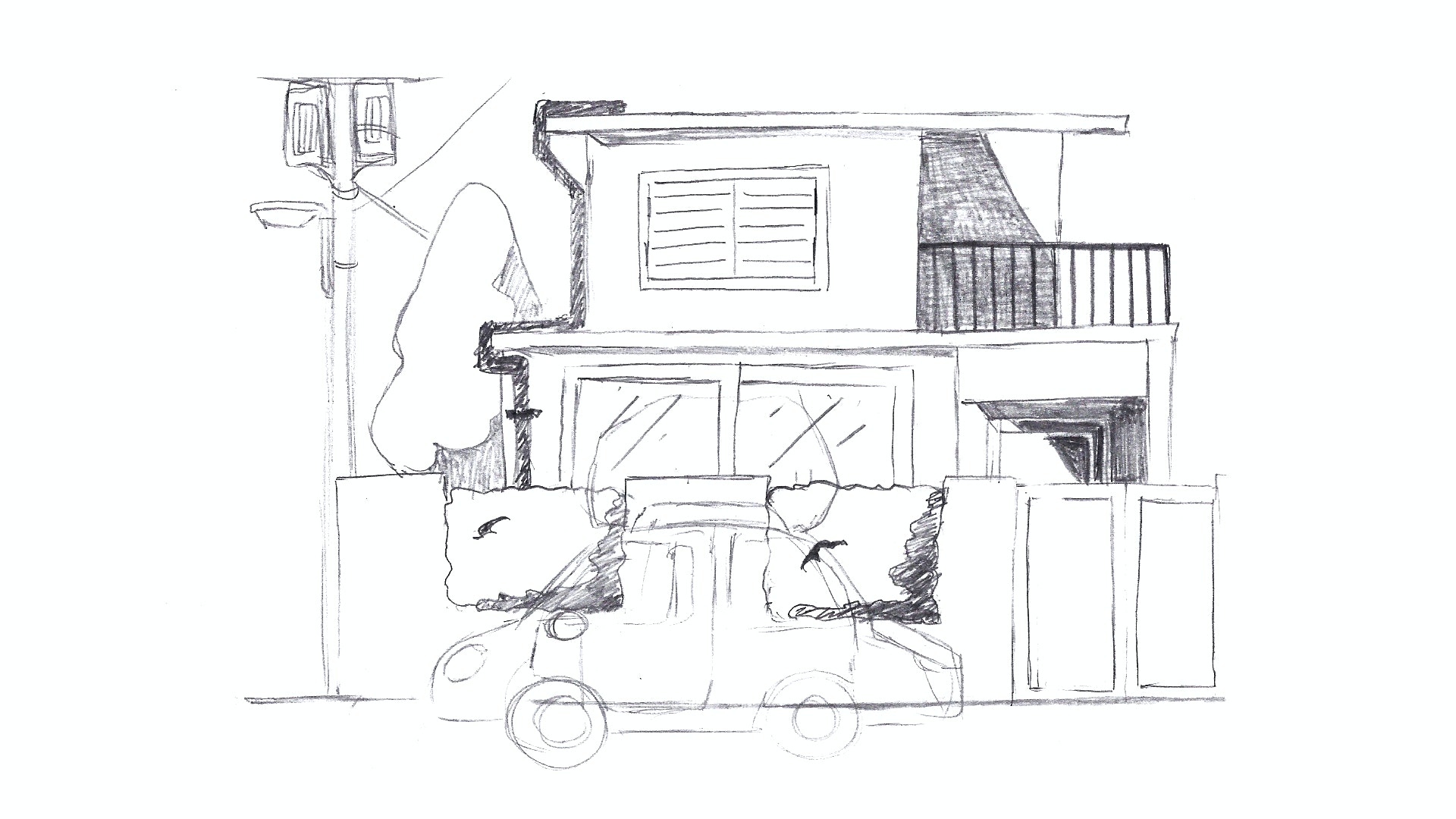 Drawing of relocation service