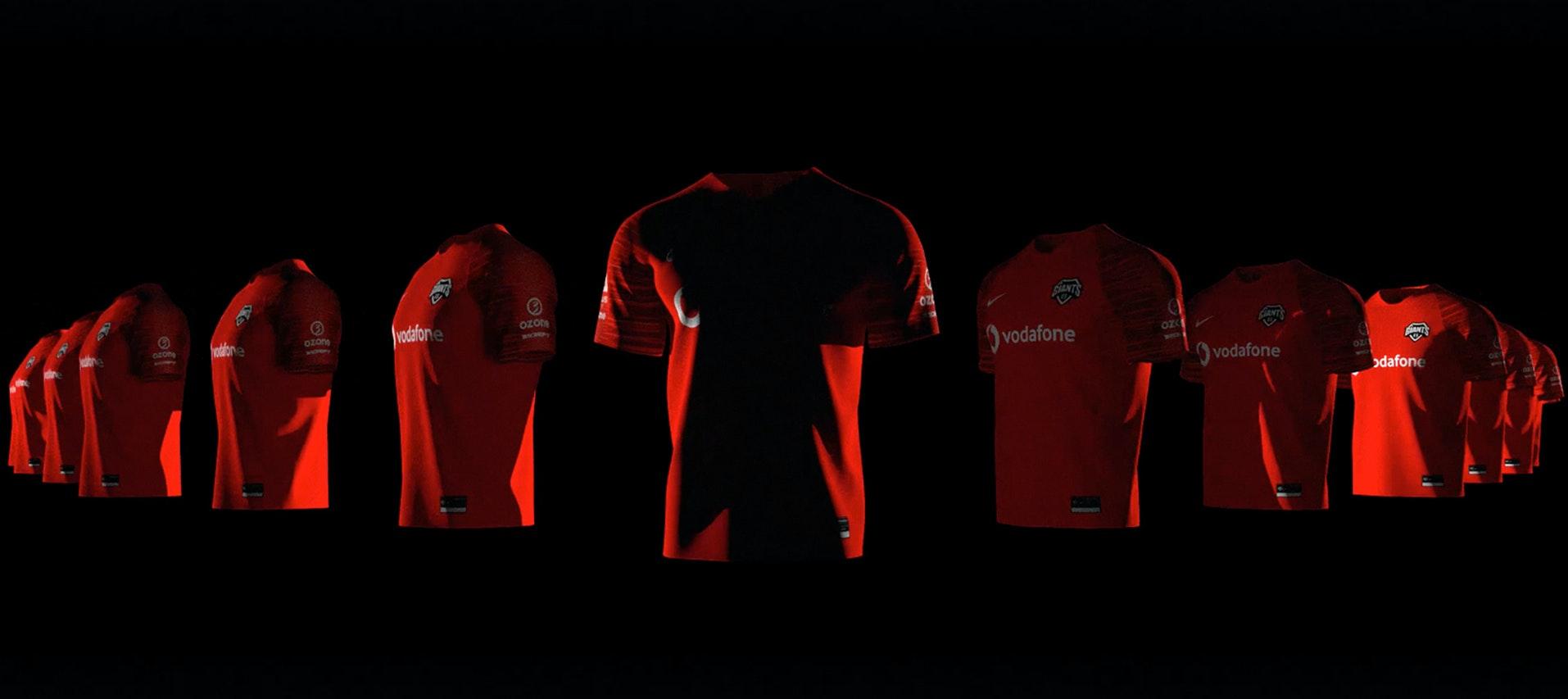 Nike x Vodafone Giants styleframe