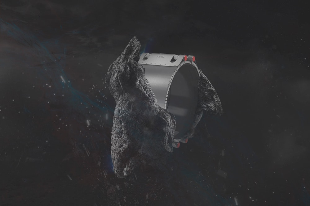 3D rock with a coupling concept art