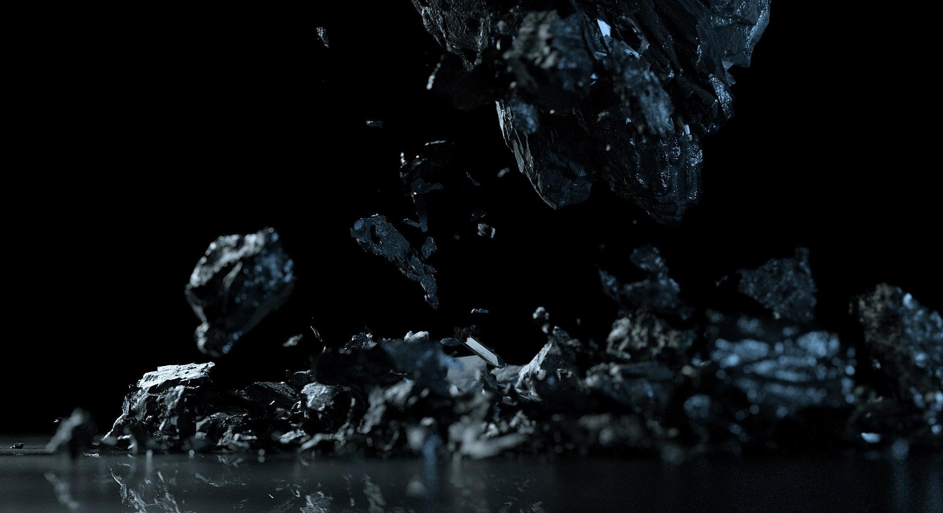 3D rock breaking
