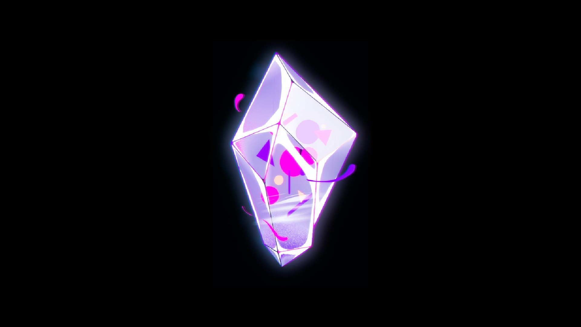 Concept art of a magic diamond