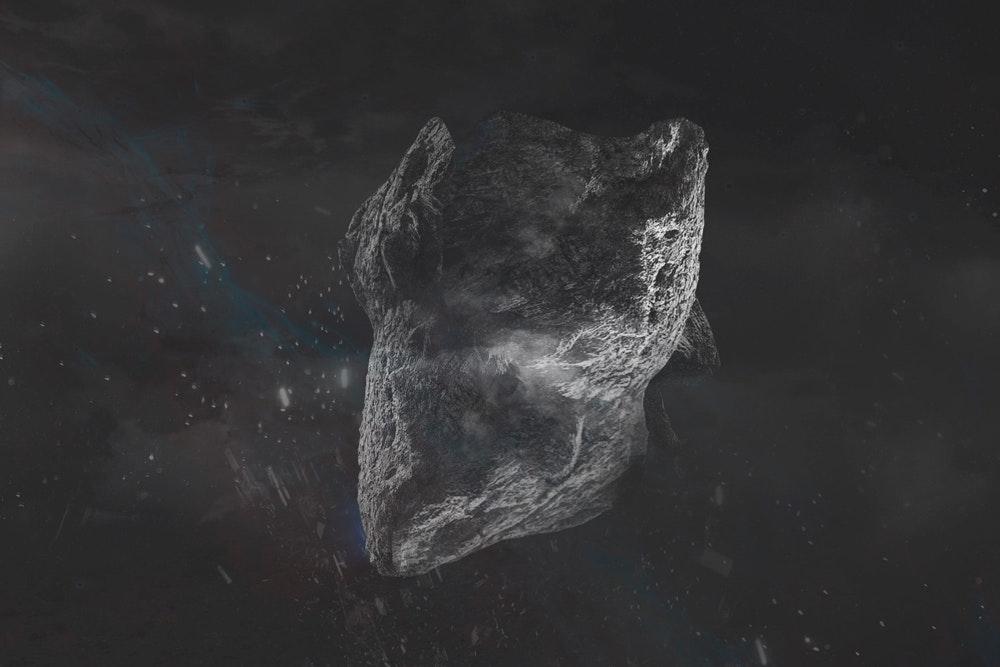 3D rock concept art