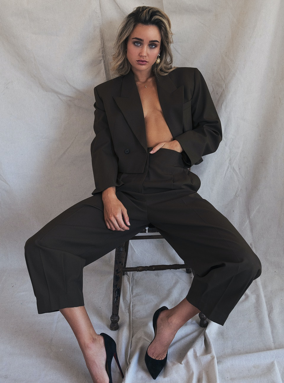 Melanie for Fashion Editorials