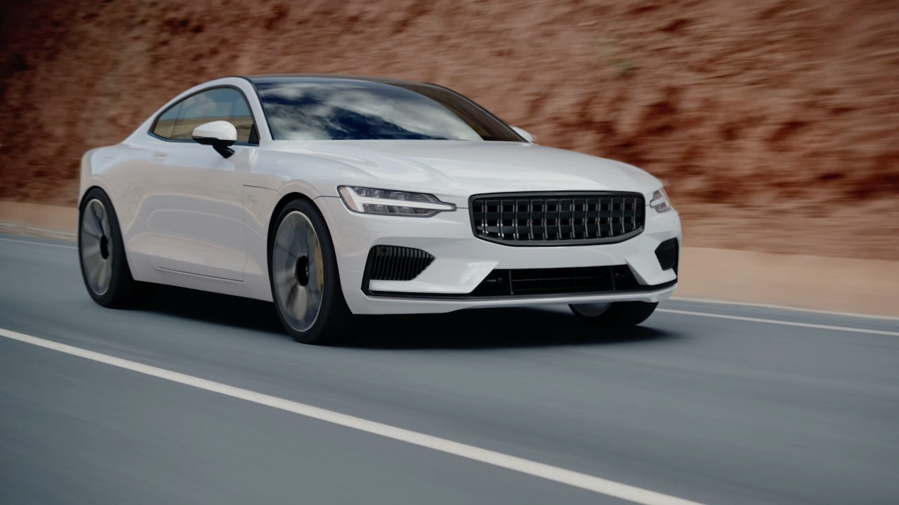 POLESTAR One 'RED Road' -