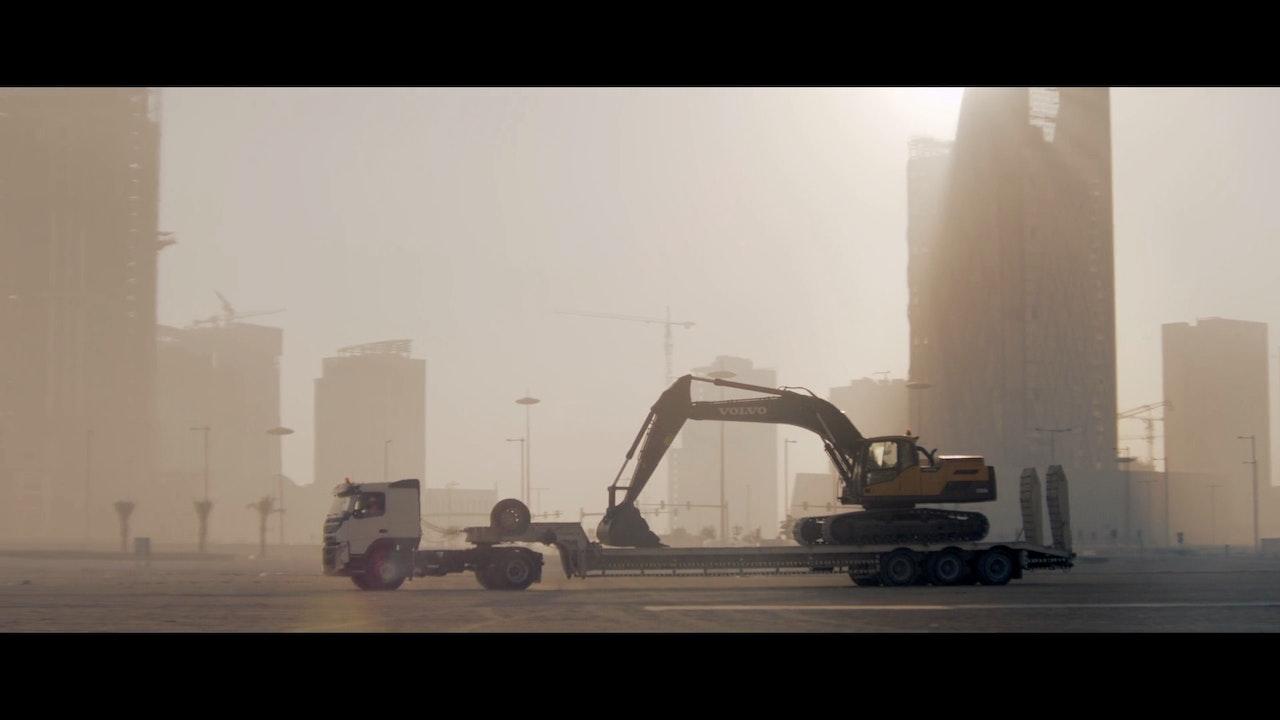 VOLVO CE 'Building Tomorrow' -