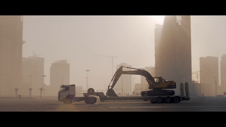 VOLVO CE 'Building Tomorrow'