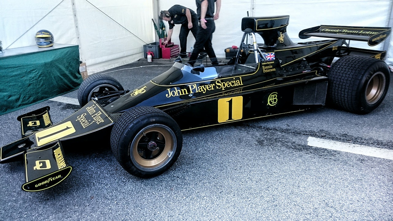 SUPERSWEDE - The documentary of Ronnie Peterson -
