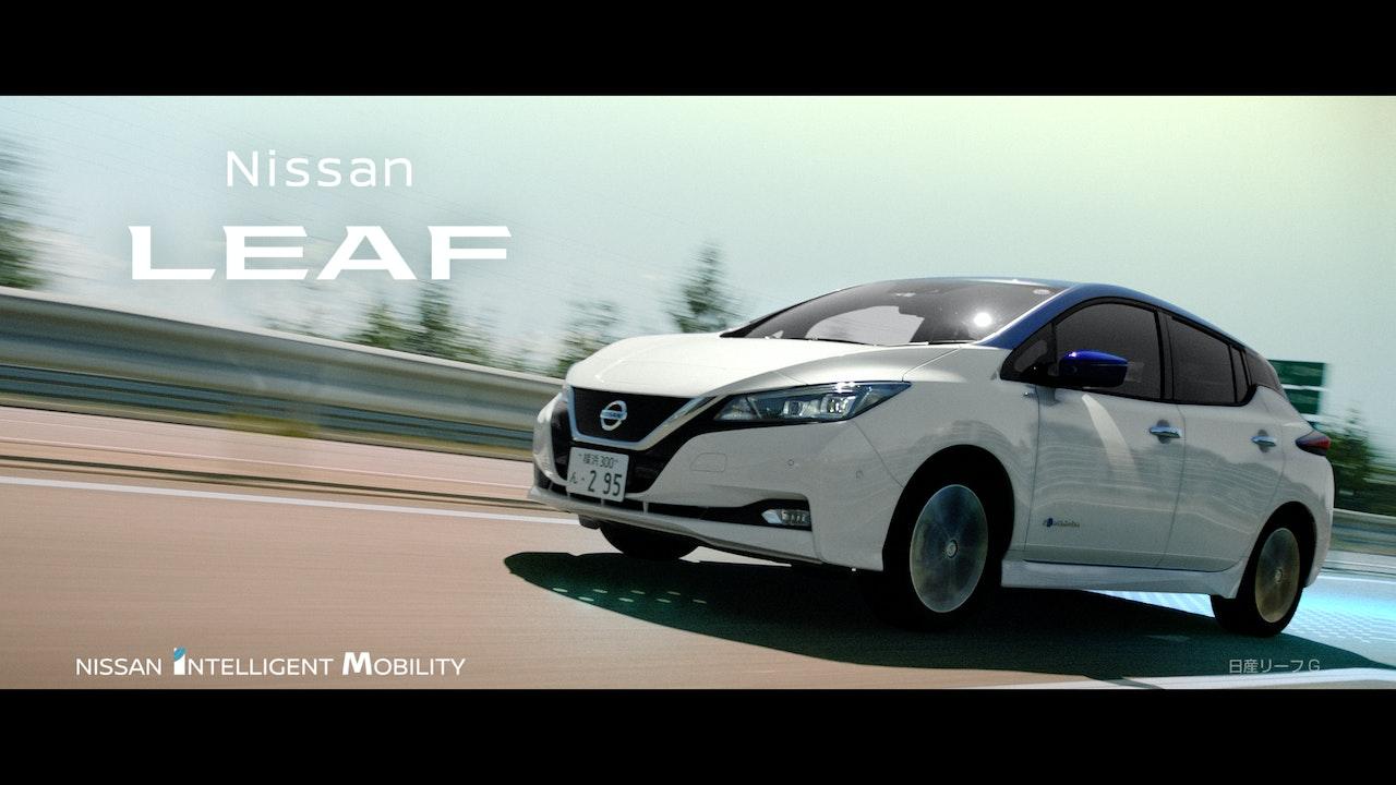 NISSAN Leaf 'At home' -
