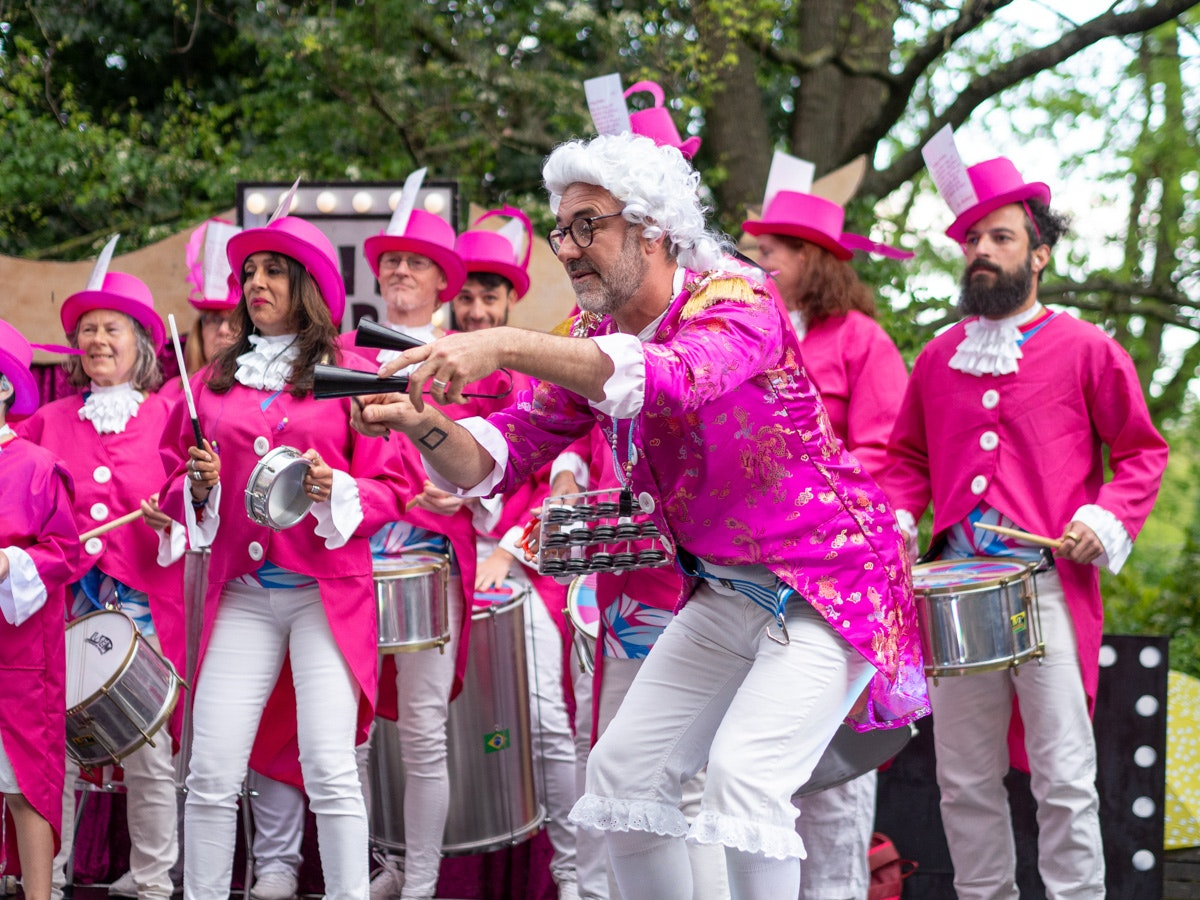 Beleza School of Samba at Fringe City