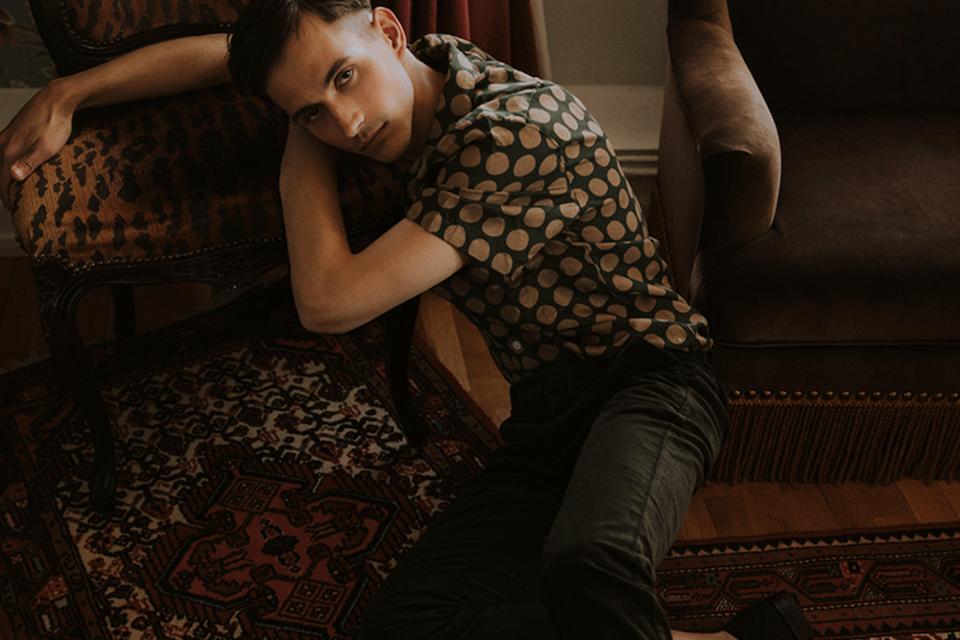 Male Model Scene mag