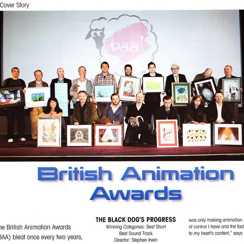 ANIMATION REPORTER - BRITISH ANIMATION AWARDS