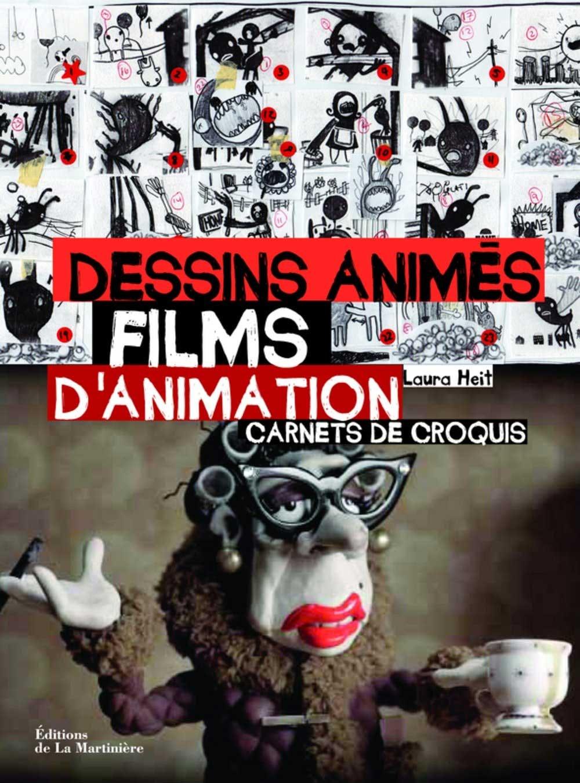 DESSINS ANIMÉS FILMS D'ANIMATION - CARNETS DE CROQUIS