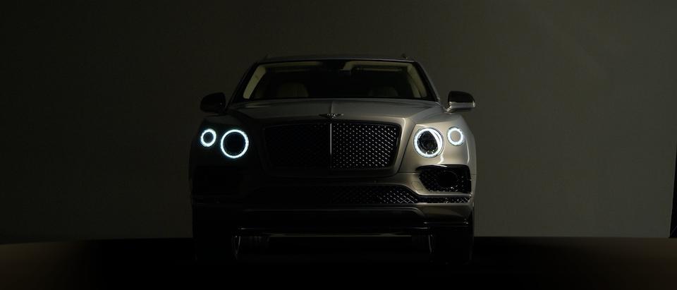 vfx reel - Bentley Bentayga