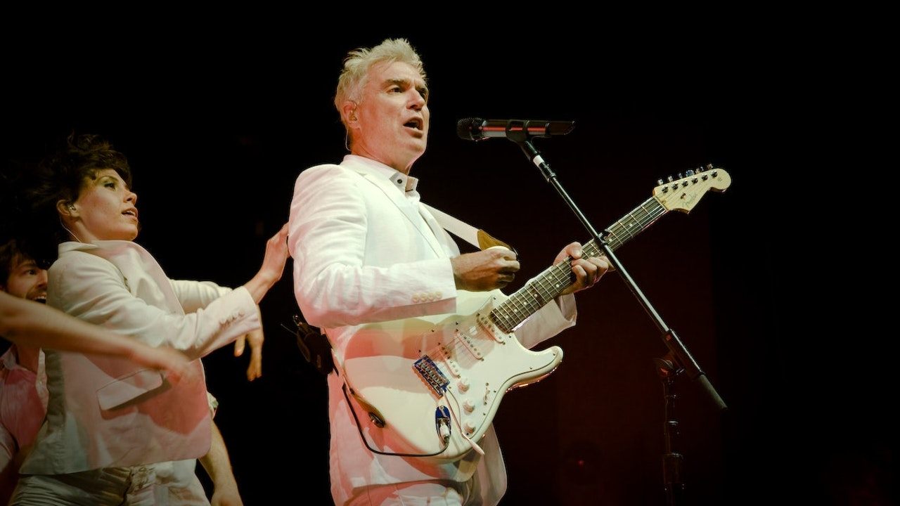 David Byrne 'Everything That Happens, Will Happen Today'
