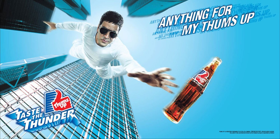 Thums Up - Akshay Kumar + Mahesh Babu