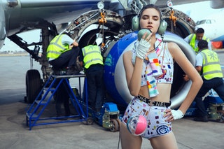 Fly With Us | Grazia Mex | Photo