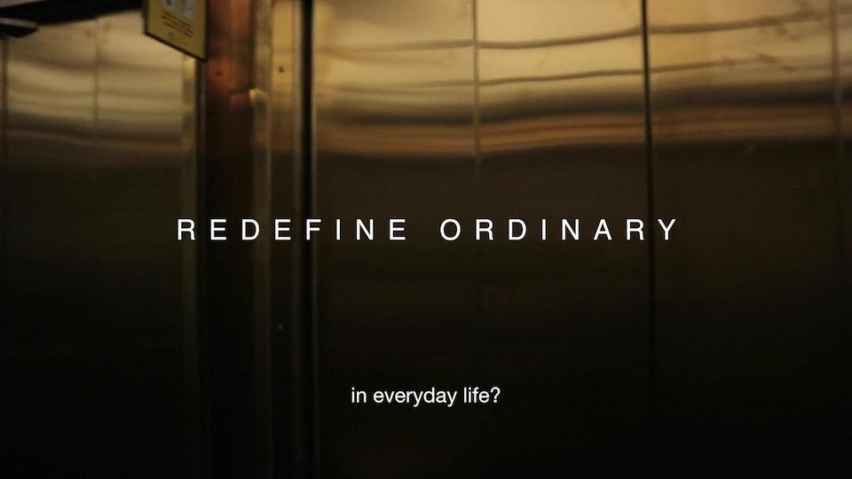 Redefine Ordinary / Jan Gleie